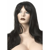 X-Long Off Black Wig 420L03017